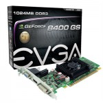 EVGA 01G-P3-1302-LR GeForce 8400 GS Graphic Card 520 MHz Core - 1 GB DDR3 SDRAM - PCI Express 2.0 x16 - 600 MHz Memory Clock - 2048 x 1536 - HDMI - DVI - VGA (01G-P3-1302-LR) Video Cards