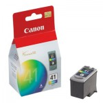Canon CL 41 - Ink tank - 1 x color (cyan, magenta, yellow) (0617B002)