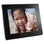 Aluratek  8 inch Digital Photo Frame with 512MB Built-in Memory (ADMPF108F)