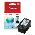Canon CL 211 XL - Ink tank - 1 x color (cyan, magenta, yellow) (2975B001)
