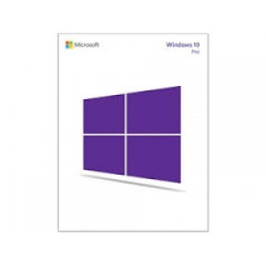Microsoft FQC-09131 Windows 10 Professional - Full version - 32-bit/64-bit - ESD - Electronic Software Download - License - All Language Pack (FQC-09131) Operating Systems