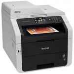 Brother MFC-9340CDW LED Multifunction Printer - Color - Copier/Fax/Printer/Scanner - 22 ppm Print - 2400 x 600 dpi Print - Touchscreen LCD - 1200 dpi Optical Scan - Automatic Duplex Print - 250 sheets Input - Ethernet - Wireless LAN - USB (MFC9340CDW) Mul