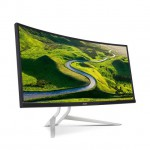 "Acer XR342CK 34"" Curved UW-QHD IPS LED Monitor - 21:9 - 3440x1440 - 300 cd/m2 - 5ms - HDMI - DisplayPort - Support VESA Adaptive-Sync - DTS Sound Stereo Speakers - Built-in USB 3.0 Port (UM.CX2AA.001) IPS Monitors"