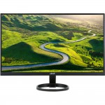 "Acer R271 BID 27"" IPS LED Monitor - 1920x1080 - 250 cd/m2 - 100,000,000:1 Dynamic Contrast Ratio - 4ms - DVI - HDMI - VGA (UM.HR1AA.001) IPS Monitors"