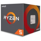 AMD RYZEN 5 1500X 3.5GHz Processor - Socket AM4 - Quad-Core (4 Core) - 8 Threads - 16MB L3 Cache - 2MB L2 Cache - 65W TDP - 3.7GHz Max Turbo Frequency - Unlocked Clock Multiplier - AMD Wraith Spire CPU Cooler (YD150XBBAEBOX) Processors (CPUs)