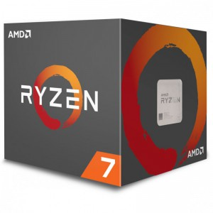 AMD RYZEN 7 1700 3.0GHz Processor - Socket AM4 - Octa-Core (8 Core) - 16 Threads - 16MB L3 Cache - 65W TDP - 3.7GHz Max Turbo Frequency - AMD Wraith Spire CPU cooler (YD1700BBAEBOX) Processors (CPUs)
