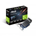 ASUS GeForce GT 710 Silent Passive Cooling Video Card - 1GB 64-bit DDR3 - PCI Express 2.0 x16 - 954 MHz Core Clock - NVIDIA Adaptive V-Sync - DirectX 12 - DVI-D - HDMI - VGA (710-1-SL-BRK) Video Cards
