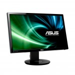 "Asus VG248QE 24.0"" Full HD WLED 3D-Ready Monitor - 144Hz Refrest Rate - 1ms Response Time - 350cd/m2 - Stereo Speakers - DisplayPort - Dual-link DVI-D - HDMI - Swivel Pivot (VG248QE) Monitors"