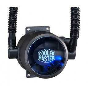Cooler Master MasterLiquid Pro 120 All-in-One Liquid CPU Cooler - 120mm Radiator - 650~2000RPM±10% - 66.7 CFM - 4-pin Fan Connector (MLY-D12X-A20MB-R1) Liquid Cooling