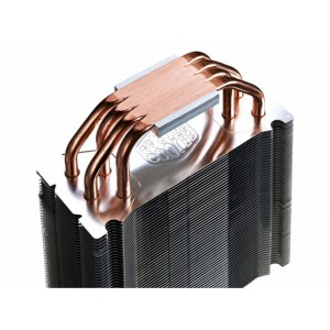 Cooler Master Hyper 212 LED CPU Cooler - 4 Direct Contact Heat Pipes - 120mm Red LED PWM Fan - 600-1,600 RPM ± 10% - 9-31 dBA (RR-212L-16PR-R1) CPU Cooling