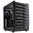 Corsair Carbide Series Air 740 High Airflow ATX Cube Computer Case - Latched Window Side Panel - 2x 140mm Front Fans - 1x 140mm Rear Fan - 2x USB 3.0 - Audio Port - Dual Chambers Design - Support Liquid Cooling (CC-9011096-WW) Computer Cases