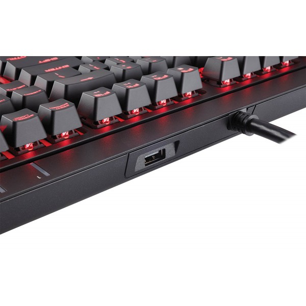 Corsair STRAFE Mechanical Gaming Keyboard with Red Backlit