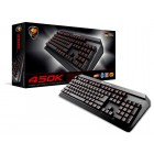 COUGAR 450K Hybrid Mechanical Gaming keyboard - 1000Hz Polling Rate - Anti-Ghosting - Splash-Proof Design - Adjustable 3-Color Backlight - On-Board Memory - USB (37450XNMB.0002) Gaming Devices