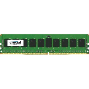 Crucial 8GB ECC Server Memory - DDR4 SDRAM - DIMM 288-pin - 2133 MHz / PC4-17000 - CL15 - 1.2 V - Registered (CT8G4RFS4213)
