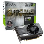 EVGA GeForce GTX 1060 SC GAMING Video Card - 3GB 192-bit GDDR5 - PCI Express 3.0 x16 - 1835 MHz OC Mode Boost Core Clock - VR Ready - G-SYNC - DL-DVI-D - HDMI 2.0b - 3x DisplayPort 1.4 (03G-P4-6162-KR) Video Cards