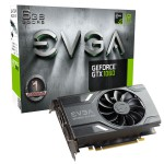 EVGA GeForce GTX 1060 GAMING Video Card - 6GB 192-bit GDDR5 - PCI Express 3.0 x16 - 1708 MHz Boost Core Clock - VR Ready - G-SYNC - DL-DVI-D - HDMI 2.0b - 3x DisplayPort 1.4 (06G-P4-6161-KR) Video Cards