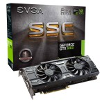 EVGA GeForce GTX 1060 SSC GAMING ACX 3.0 Video Card - 6GB 192-bit GDDR5 - PCI Express 3.0 x16 - 1835 MHz Boost Core Clock - ACX 3.0 Dual Fans - VR Ready - G-SYNC - DL-DVI-D - HDMI 2.0b - 3x DisplayPort 1.4 (06G-P4-6267-KR) Video Cards
