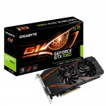 GIGABYTE GeForce GTX 1060 G1 Gaming 6G Video Card - 6GB 192-bit GDDR5 - PCI Express 3.0 x16 - 1847MHz OC Mode Boost Core Clock - VR Ready - G-SYNC - DVI-D - HDMI 2.0b - 3x DisplayPort 1.4 - WINDFORCE 2X Fans - RGB Spectrum Lighting (GV-N1060G1 GAMING-6GD)