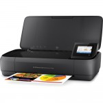 "HP OfficeJet 250 Mobile All-in-One Inkjet Printer - 2.65"" CGD Touchscreen Display - 50-Sheet Input Capacity - Optional Li-Ion Battery Pack - USB 2.0 - Wi-Fi - USB 2.0 Host (CZ992A#B1H) Multifunction Printers"
