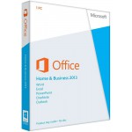 Microsoft Office Home and Business 2013 - license - 1 PC - English - 32/64-bit - medialess (T5D-01575)