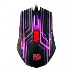 Thermaltake Tt eSPORTS TALON Gaming Mouse -  AVAGO 3050 Optical Sensor - 3000 DPI - 6-Color Cycling Effect - OMRON Swtiches - Removable Side Panels (MO-TLN-WDOOBK-01) Gaming Devices