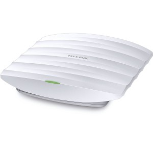 TP-Link EAP330 AC1900 Wireless Dual Band Gigabit Ceiling Mount Access Point - 802.11ac Wi-Fi - Up to 1900Mbps - Broadcom Enterprise-Class Chipset - Link Aggregation - Free EAP Controller Software (EAP330) Wireless Access Points