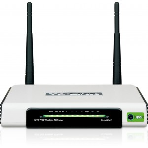 TP-Link 3G / 3.75G 300M 2 Antenna Wireless N Router (TL-MR3420)